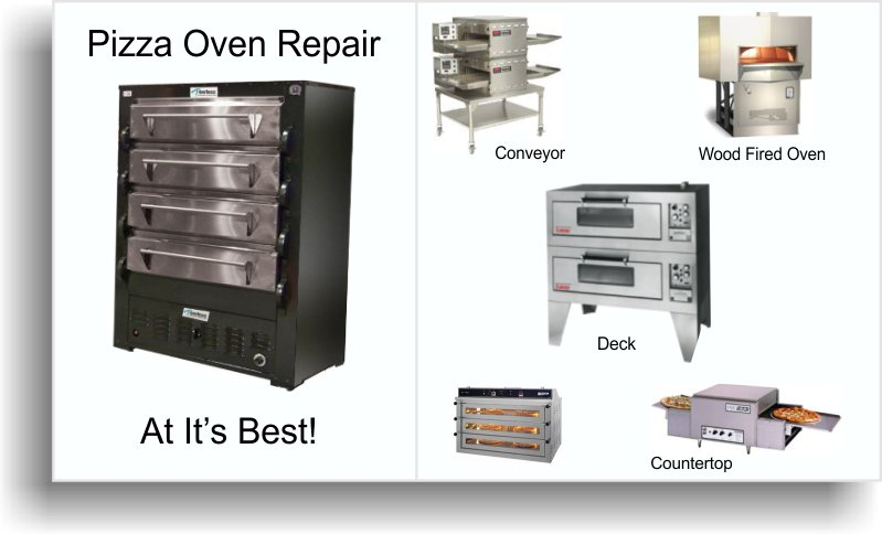 pizza oven repair banner